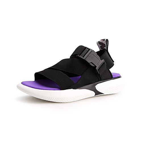 ZHANGJIA Taste Tide Summer Chic Students Sandals Leisure Ins Female black Female Shoes Shoes Section rfTwrq