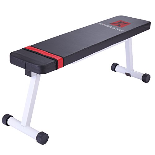 Kingkang flat weight bench versatile sit ups home fitness workout strength training equipment Academy weight bench