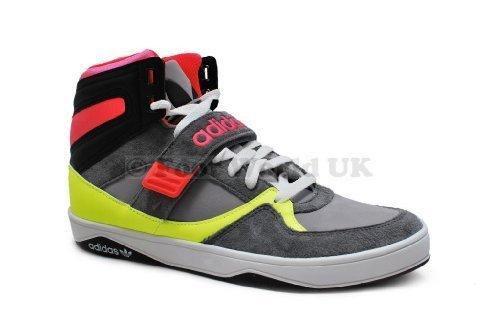 Adidas–Pantaloni da donna Space Diver 2.0W–Grigio/Rosa/volt