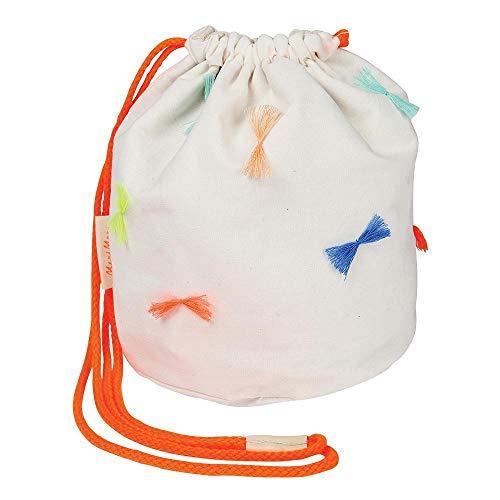 (Meri Meri Round Bow Tassel Bag)