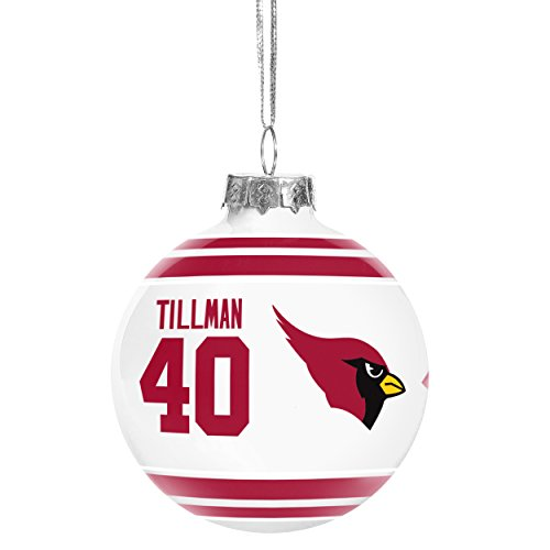 Retired Players Holiday Glass Ball Ornament