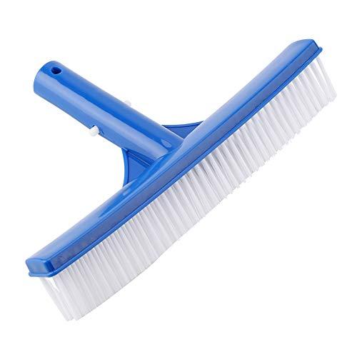 OKBY Cepillo para Piscina - 10 Pulgadas de plástico Cepillo para Piscina Limpieza de Suciedad Moss Pond SPA Fuentes de...