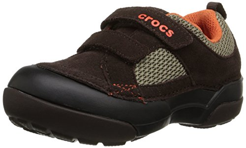crocs Dawson Easy-On Slip-On Shoe , Espresso/Black, 9 M US T