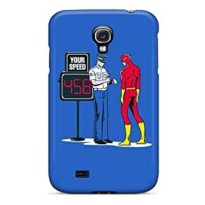 Fashionable Style Case Cover Skin For Galaxy S4- Super Speed Flash