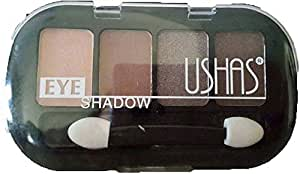 Ushas Color quad Eyeshadow/Brown