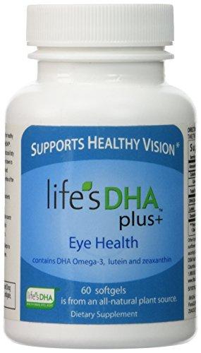 De la vie de Martek DHA Plus 400mg + santé oculaire avec oméga 3 DHA, lutéine et zéaxanthine 60 gélules