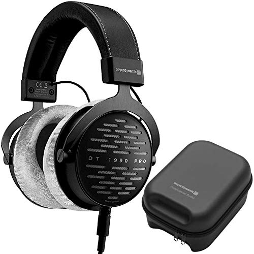 Beyerdynamic DT 1990 Pro 250 ohm Open-Back Studio Headphones with Grey Earpads (SPECIAL EDITION)