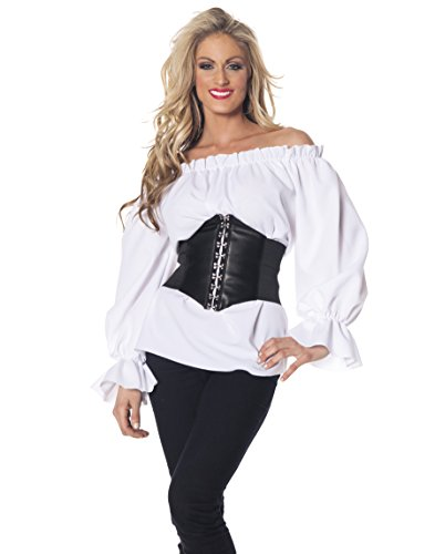 Renaissance Long Sleeve Adult Costume - (Wench Costume Shirt)