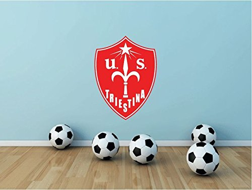 Triestina Calcio FC Italy Soccer Football Sport Art Wall Decor Sticker 25'' X 18'' by postteam