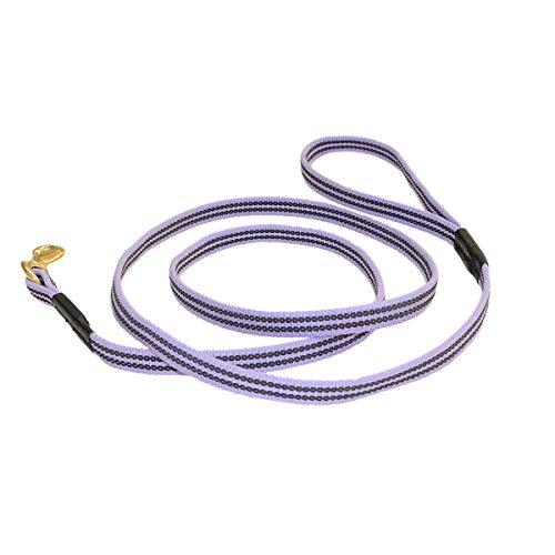 RedLine K9 Sure Grip 5/8-Inch Leash Purple (5/8 inch X 6 - Grip Leash