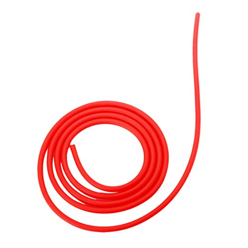 1M Red Elastic Natural Latex Rubber Replacement Band Tube for Hunting Shooting Slingshot Catapult-2040