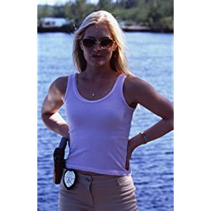 Emily Procter Csi Miami Vest Sunglasses Portrait Photo Shoot 35Mm Transparency