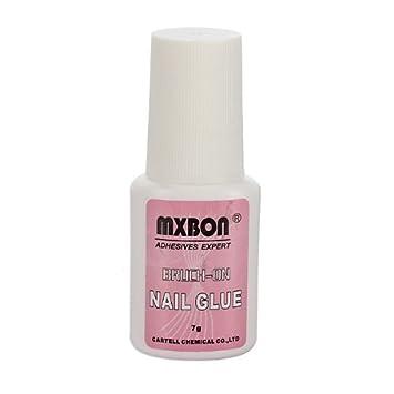 Amazon 7g Mxbon Brush On False Nail Art Adhesive Glue Beauty