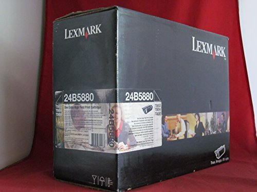 LEXMARK TS65X BLK PRINT CART EXTRA HIYLD RET PROG - 24B5880 by ()