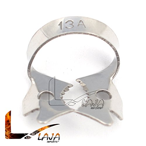 LAJA IMPORTS Rubber Dam CLAMP #13A Lower MOLARS