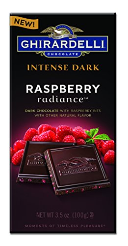 - Ghirardelli Raspberry Radiance Intense Dark Chocolate Bar (Pack of 12)