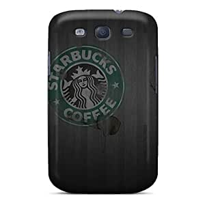 First-class Case Cover For Galaxy S3 Dual Protection Cover Starbucks