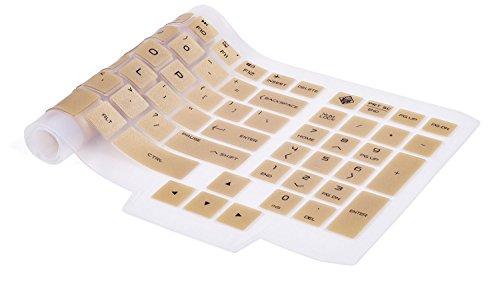 "HP OMEN 15.6"" Keyboard Cover, Premium Silicon Keyboard Skin"
