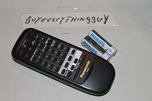 Panasonic EUR644852 av Receiver Tested- with Batteries- Sold by Buyeverythingguy (Av Receiver Panasonic)