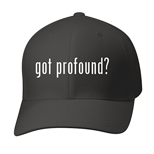 BH Cool Designs Got Profound? - Baseball Hat Cap Adult, Black, - Profound Aesthetic