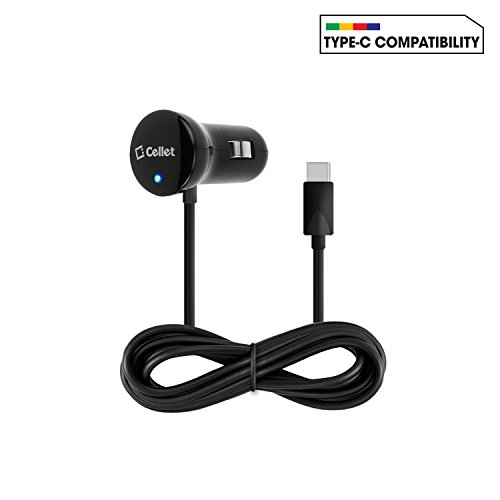 Samsung Note 8 Fast Car Charger, Samsung Galaxy S8, S8 Plus, Note 8 Type-C Super Fast, High Powered - 15 Watt / 3 Amp car charger