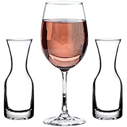 Lillian Rose Wedding Ceremony Unity Wine Carafe and Glasses