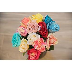 HungEnterprises DL82001 Artificial Rose, 12 Pack 2
