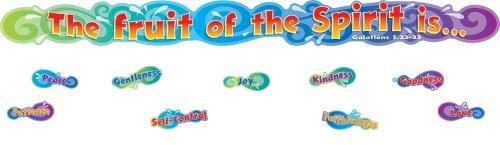 The Fruit of the Spirit: Mini Bulletin Board Set, 12 pcs. (2008-05-15)