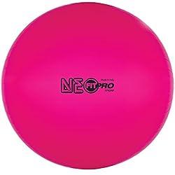 Champion Sports FitPro Training & Exercise Balls, Neon Pink