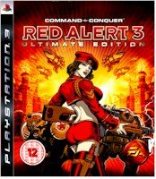 New Electronic Arts Command & Conquer Red Alert 3 Ultimate Edition Playstation 3 Game 1080P Blu-Ray - Red Alert Ps3