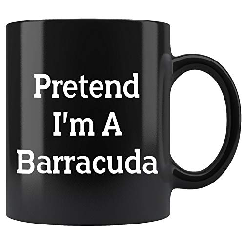 Pretend Im Barracuda Costume Funny Halloween Party Mug Coffee Mug 11oz Gift Tea Cups 15oz