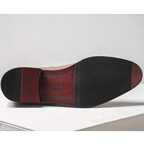 Los Martin Boots British Casual Cuero Boots High Moda Top De De De Black Shoes Chukka Genuino De Vintage Hombres Botines Negocios Pvq85a5