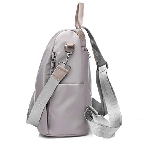 SSMKY187676 femme YYW porté Sac pour au dos à Gris main gd4qxw8Rd