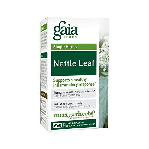 Gaia herbes feuille d'ortie, 60 Phyto-gélules liquides