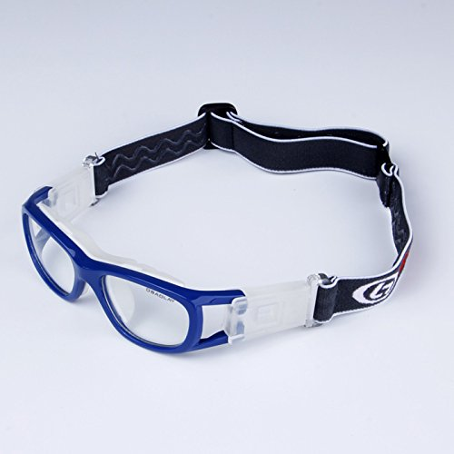 EnzoDate Children Basketball Goggles for Boys & Girls, Clear Lens Teenage Sports Glasses, Protection Soccer Glasses - Glasses Girls For Frames Teenage