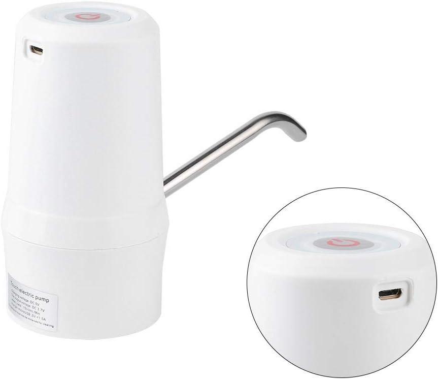FILFEEL Aparato electrodom/éstico sin /óxido Familia de tama/ño Mini para hogar de Botella para Barril dispensador de Agua White