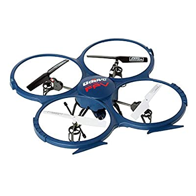 Force1 UDI U818A Drone with Camera Live Video WiFi FPV and Return Home Altitude Hold VR Comp Compatible Quadcopter by USHOT