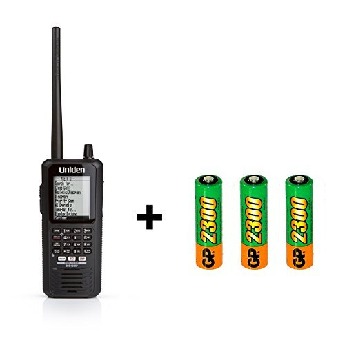 Uniden BCD436HP Phase II Digital Handheld Scanner and Rechargeable Batteries Bundle by Uniden (Image #4)