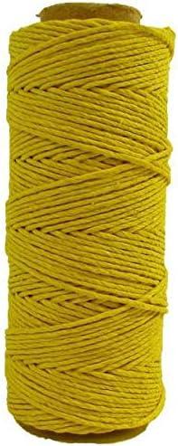 Black Organic Cotton Plus 100/% Hemp Cord 68 Yard Spool