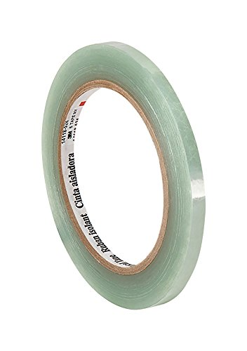 3M 5 Translucent Clear Polyester Electrical Tape, 0.313″ width x 72ydlength (pack of 2)