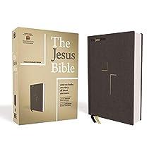 The Jesus Bible, ESV Edition, Cloth over Board, Gray