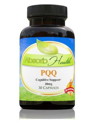PQQ (Pyrroloquinoline Quinone) | Enhancer cognitive | Prend en charge la santé du coeur | 30 capsules de 20mg par Capsule