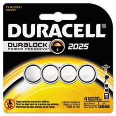 Price comparison product image Duracell Keyless Entry Battery Dl2025 4 Pack