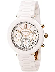 Wittnauer WN4030 Womens Chronograph Taylor White Ceramic Bracelet Watch