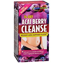 14-Day Acai Berry Cleanse Tablets - 56 ct, Pack of 3