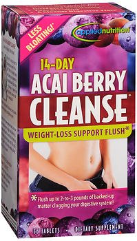 Applied Nutrition 14-Day Acai Berry Cleanse Tablets 56 Tablets (Pack of - Berry Nutrition