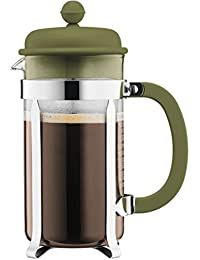 Bodum Caffeteria French Press Coffee Maker, 1 L - Olive At A Glance