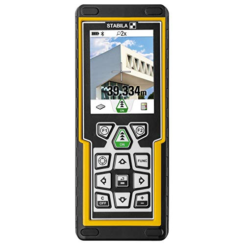 Stabila 6520 Laser Distance Measure with iPad iPhone App (Best Iphone App For Measuring Distance)