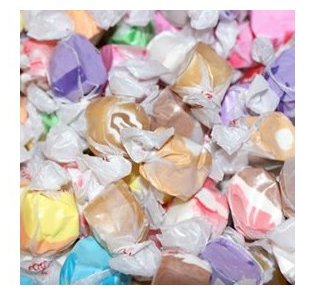Salt Water Taffy - Assorted, 5 lbs by Taffy Town