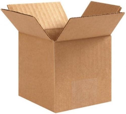 "125 4x4x4 /""EcoSwift/"" Brand Cardboard Box Packing Mailing Shipping Corrugated"